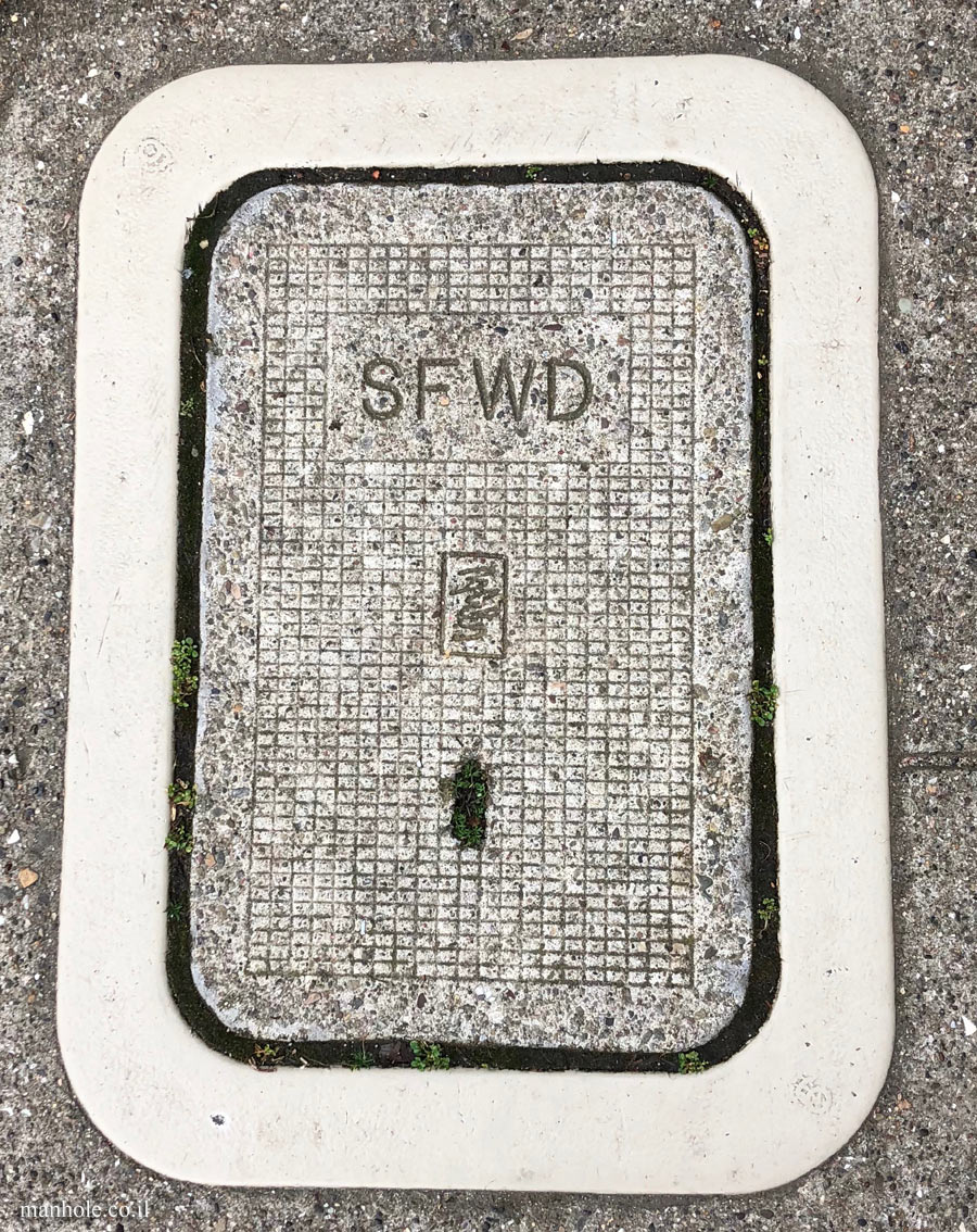 San Francisco - Water - SFWD - rectangular lid with rounded edges