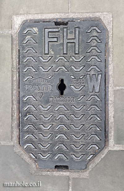 London - water - a small lid with a special shape - fire hydrant 2