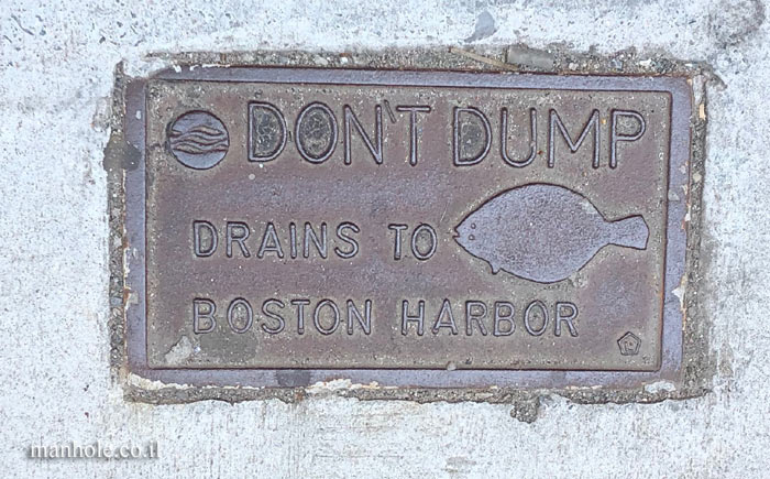 Boston - Don't dump drains to Boston Harbor