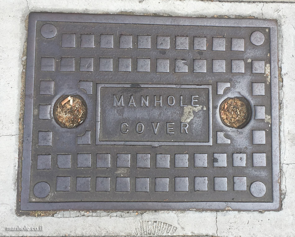 London - Manhole cover is a manhole cover is a manhole cover ...