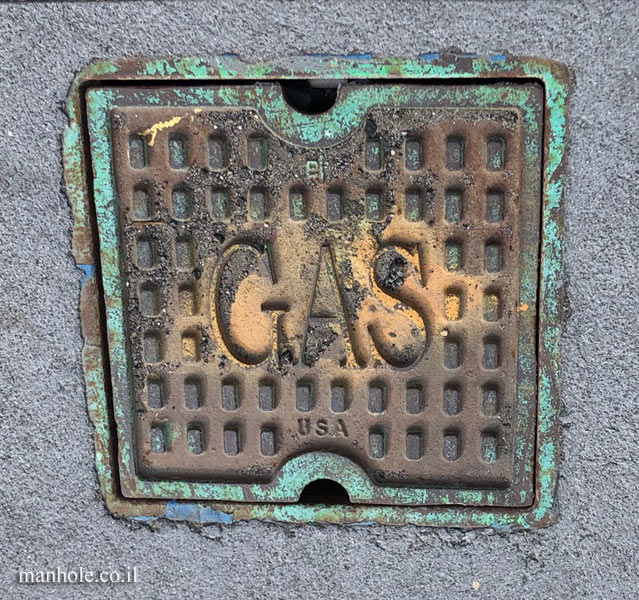New York - a small gas cap