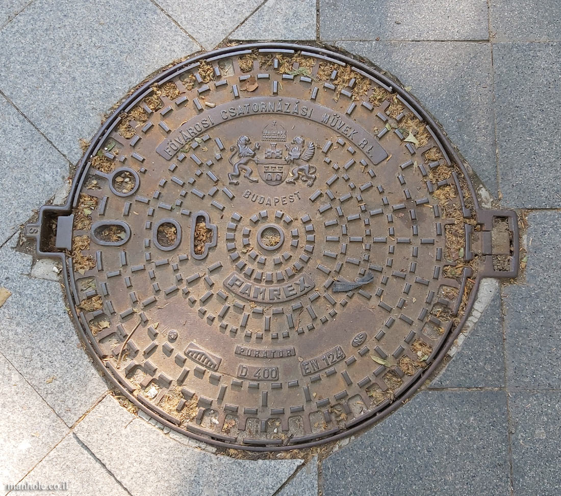 Budapest - Sewage Department - Pamrex brand cover