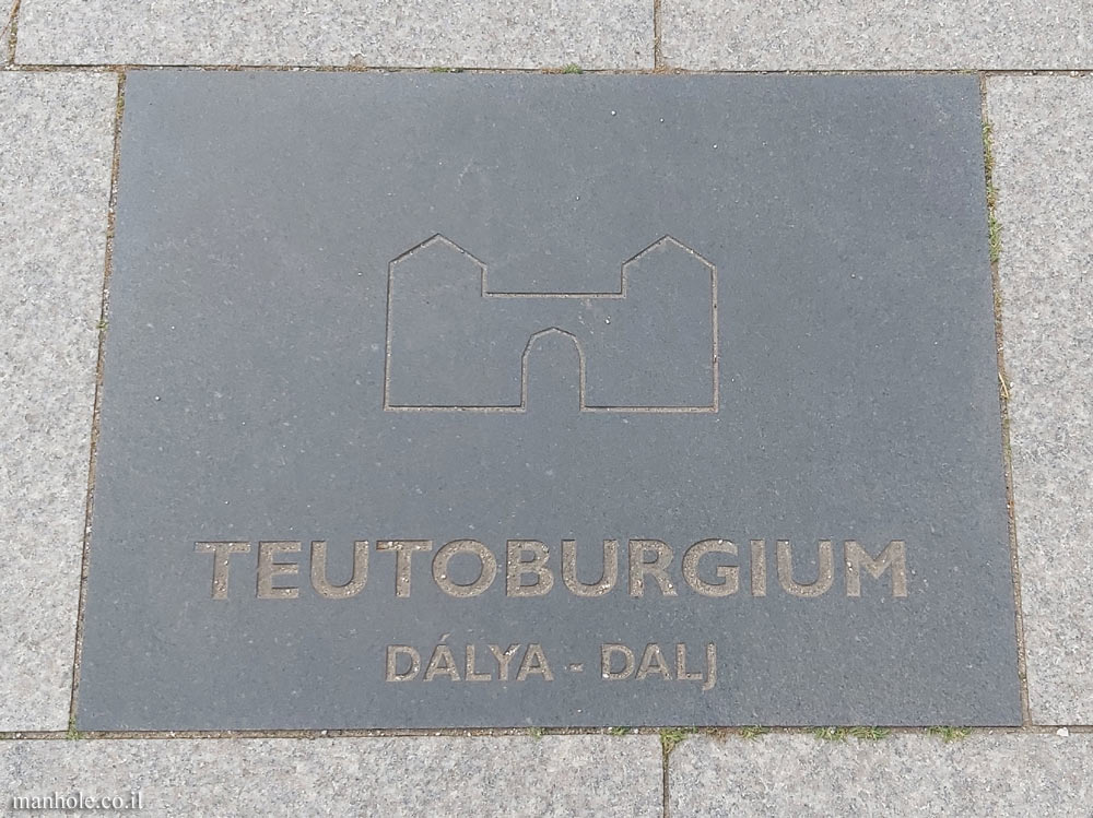 Budapest - the Roman frontier - Danubian Limes - Teutoburgium