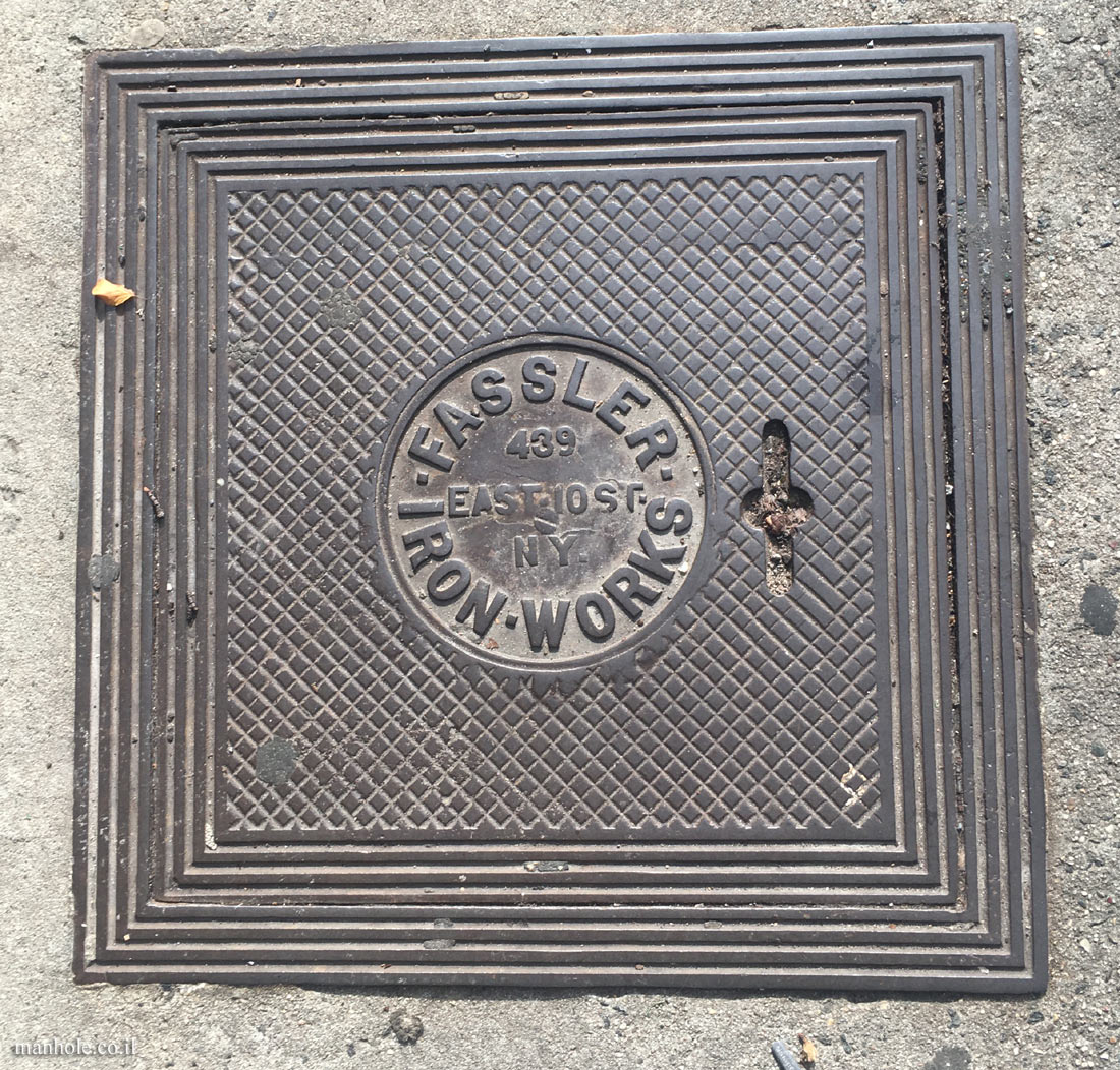 New York - Brooklyn - Fassler Iron Works cover