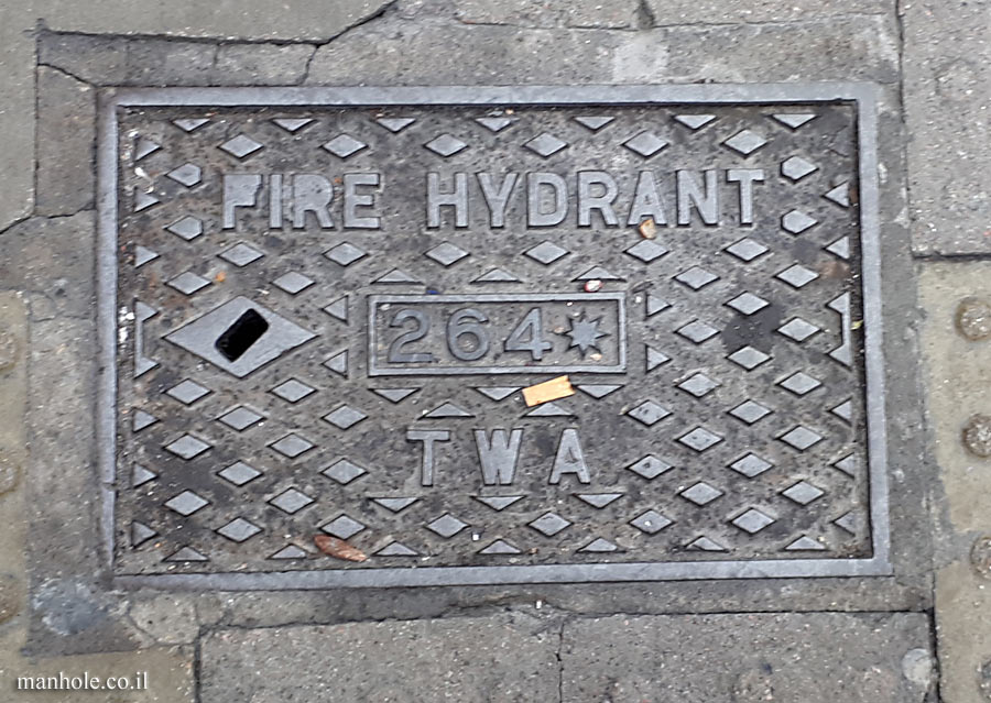 London - Fire Hydrant - TWA