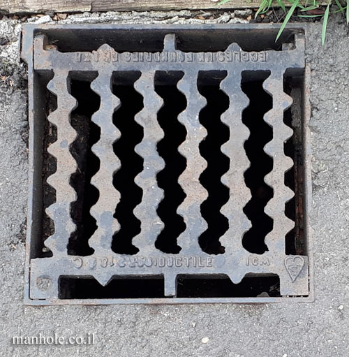 London - drainage - zigzag