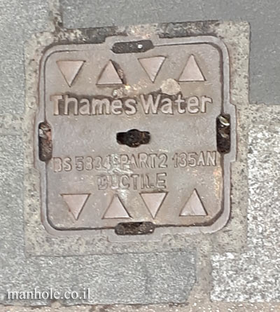 London - Soho - Thames Water - Small cover